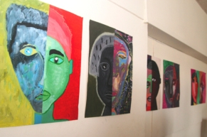 """En avant-première, une partie de l'exposition """"Présences"""" (Arts plastiques)"""